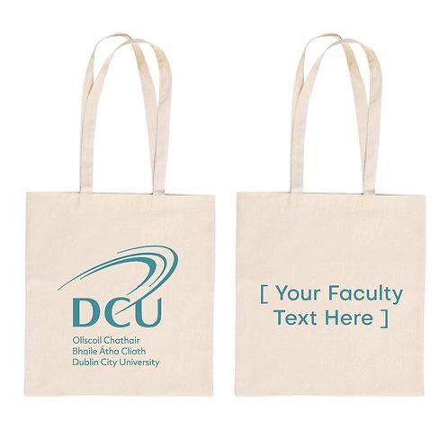 Faculty Branded DCU Cotton Shopper Min Qty 100pcs