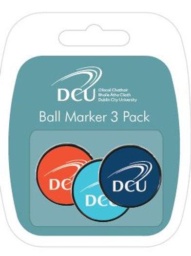 DCU Golf Ball Markers 3 Pk