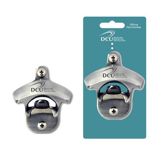 DCU mounted bottle opener