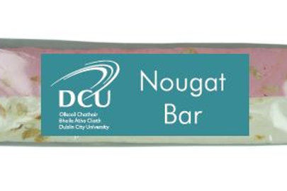 DCU Vanilla Pink & White Nougat Bar 100g