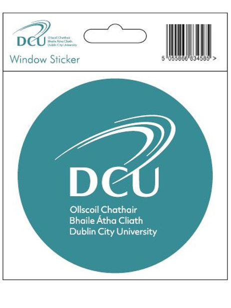 DCU Window Sticker