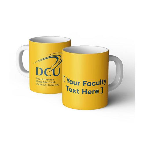 DCU Faculty Branded Ceramic Mug Min Qty 72pcs