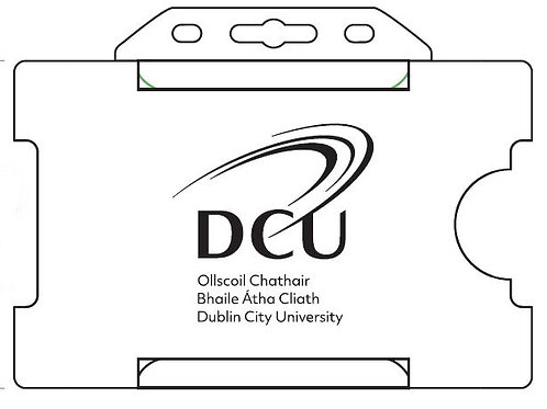 DCU ID Card Holder