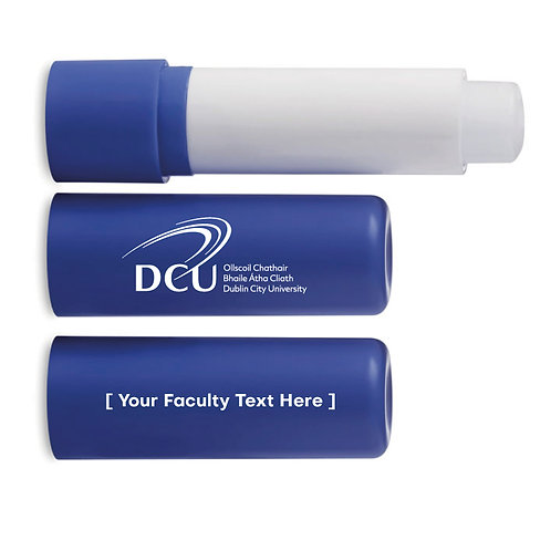 DCU Faculty Branded Lip Balm Min Qty 250pcs