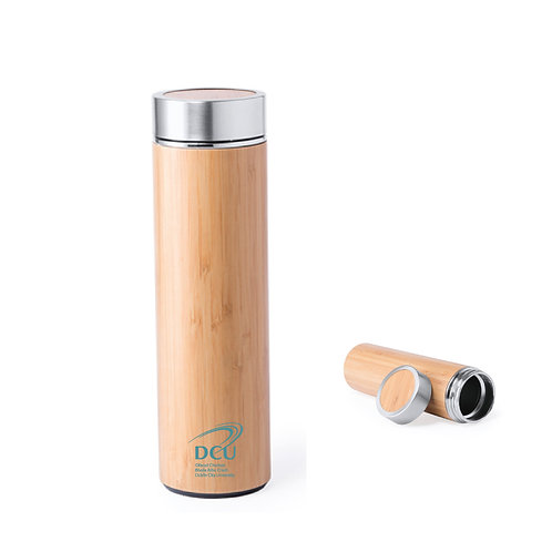 DCU Bamboo Water Bottle