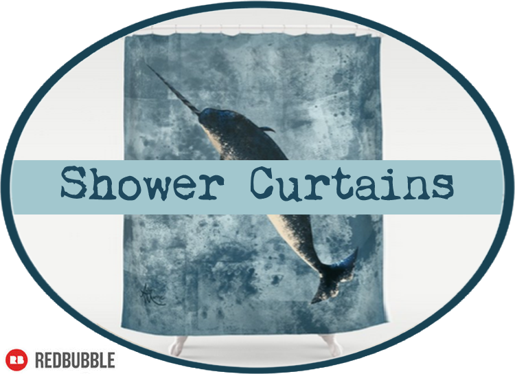 Shower Curtains by Amber Marine ©