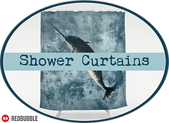 Amber Marine Shower Curtains Button.png