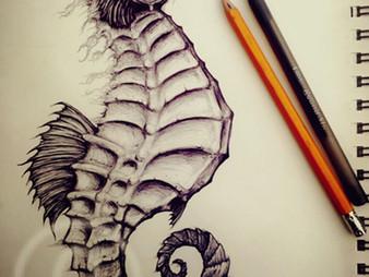New Art - Fantasy Seahorse