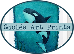 amber marine, painting, orca, granny, j2, the dreamer, killer whale, art, wall tapestry, wall art