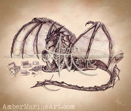 zRD©_Material_Girl_Ahzuriel_the_Dragon_by_Amber_Marine_River_Dragon_Art