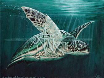 Green Sea Turtle October!