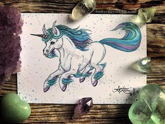 "New Mini: Fluorite ""Flo"" the Unicorn"