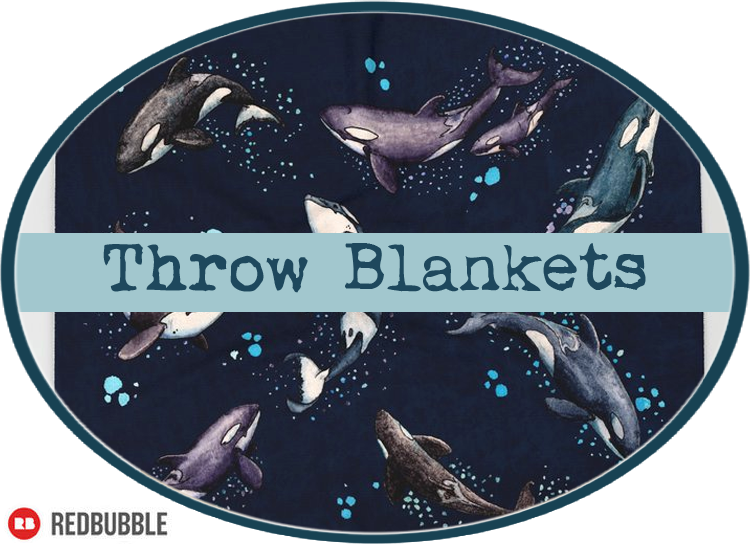 Throw Blankets by Amber Marine ©