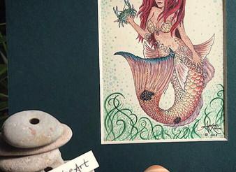 """New Art: """"Ruby Redfish"""""""