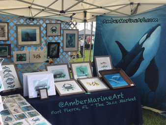 Local Art Show! ~ Fort Pierce, Florida