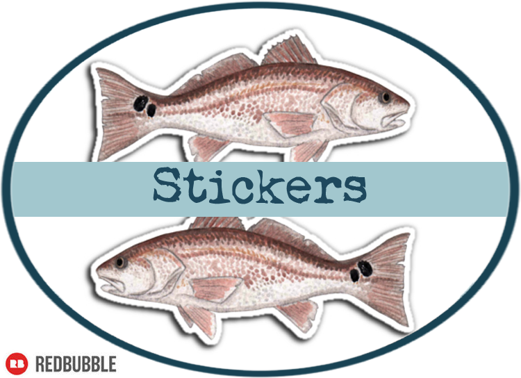 Fish Stickers by Amber Marine ©