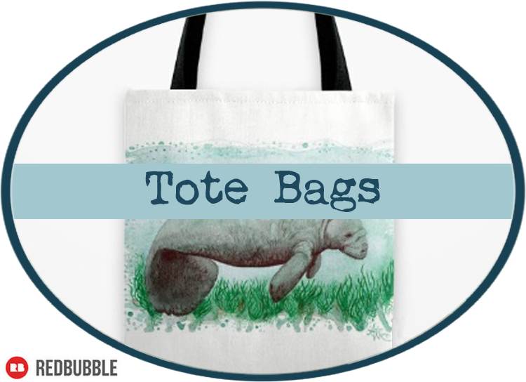 Tote Bags by Amber Marine