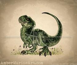 Baby T-Rex ~ 2013 ©