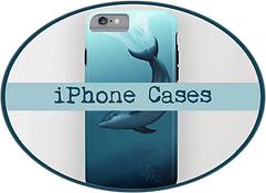 amber marine, painting, artist, wall art, marine life, ocean art, dolphin, coastal, nautical, sea, ocean, phone, case, ipad, skin, tech, sleeve, cover