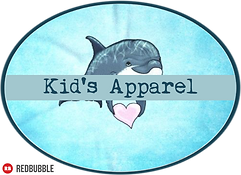 Amber Marine Art © Apparel Kid's Button