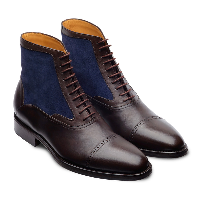 TOE CAP OXFORD BOOT