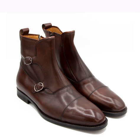 DOUBLE MONK BOOTS