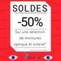 -50% pour les Soldes