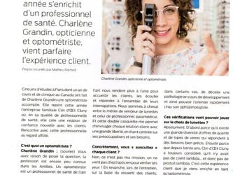 Un optométriste en magasin?