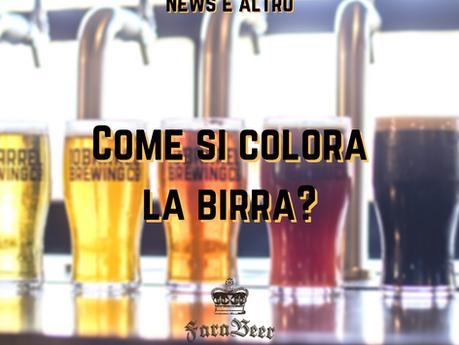 Come si colora la birra?