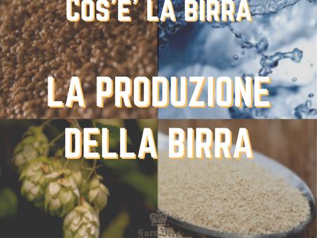 La produzione di birra