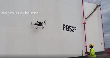 Rope Access UT thickness -vs- Drone UT thickness