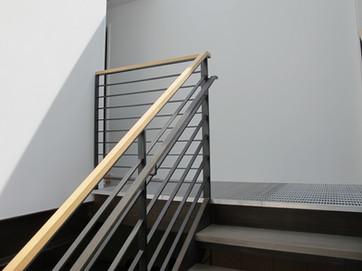 Flat bar railing