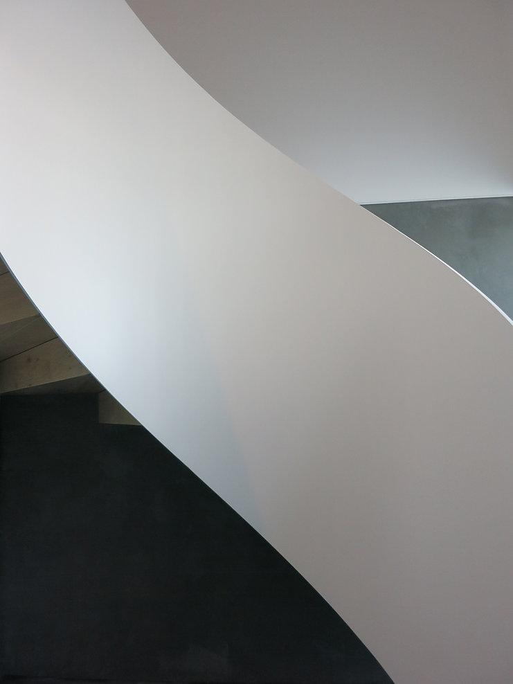 Solid mild steel plate railing