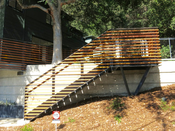 Exterior C-Channel Stair