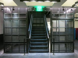 Proper hotel lobby stair