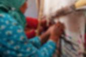 Berber Teppich Handarbeit