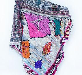 Berber Teppich Boucherouite