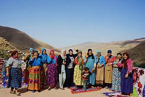 Frauen Kooperative Marokko Atlas Gebirge