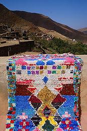 Atlas Gebirge Berber Teppich