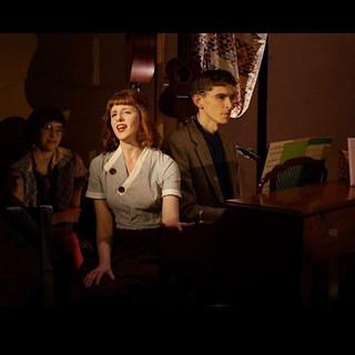 Folk Wandering - Pipeline Theatre Co. 📷 by Suzi Sadler Also pictured: Ellen Winter & Seth Clayton
