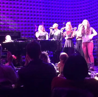 Singing with Shaina Taub at Joe's Pub