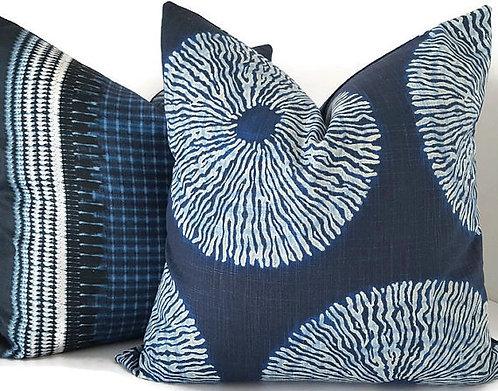 Japanese Shibori Pillow