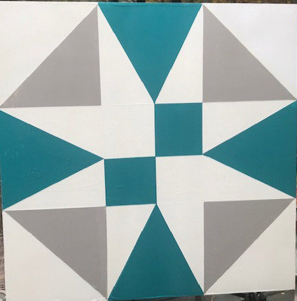 """Judy in Arabia"" Barn Quilt"