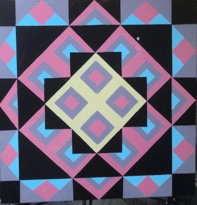 Geometrica Barn Quilt