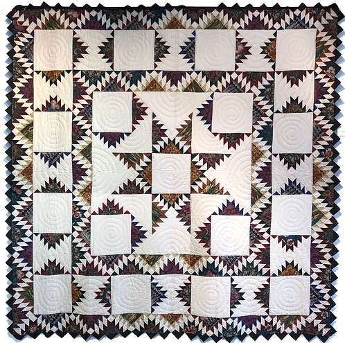 """Majestic Mountain Quilted Wall Hanging 90""""x108"""""""