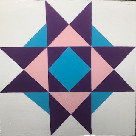 January Thaw Barn Quilt