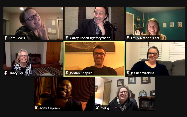 VIRTUAL 5-Week Storytelling Workshop