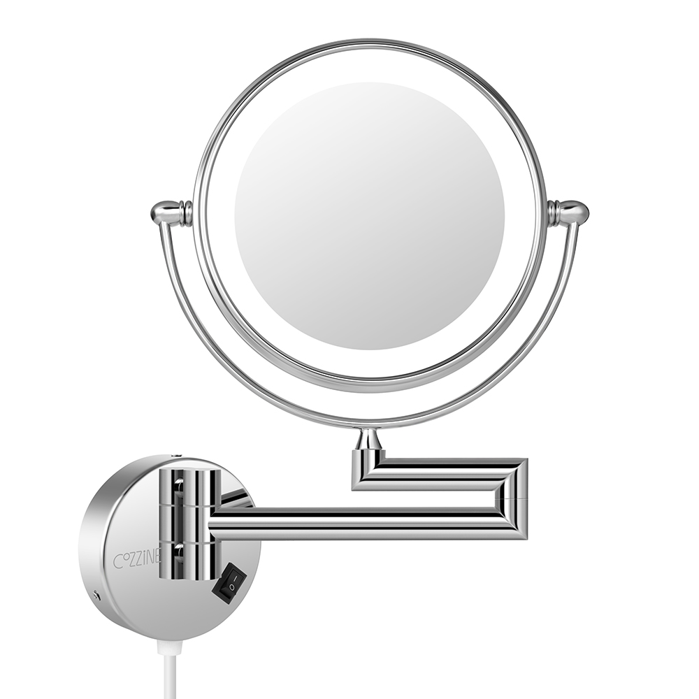 7X LED Dual-Sided Makeup Mirror