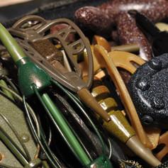 Carp fishing feeders and leads.jpg
