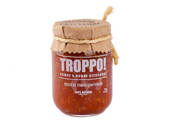 Relish de tomate com funcho Troppo Artesanal